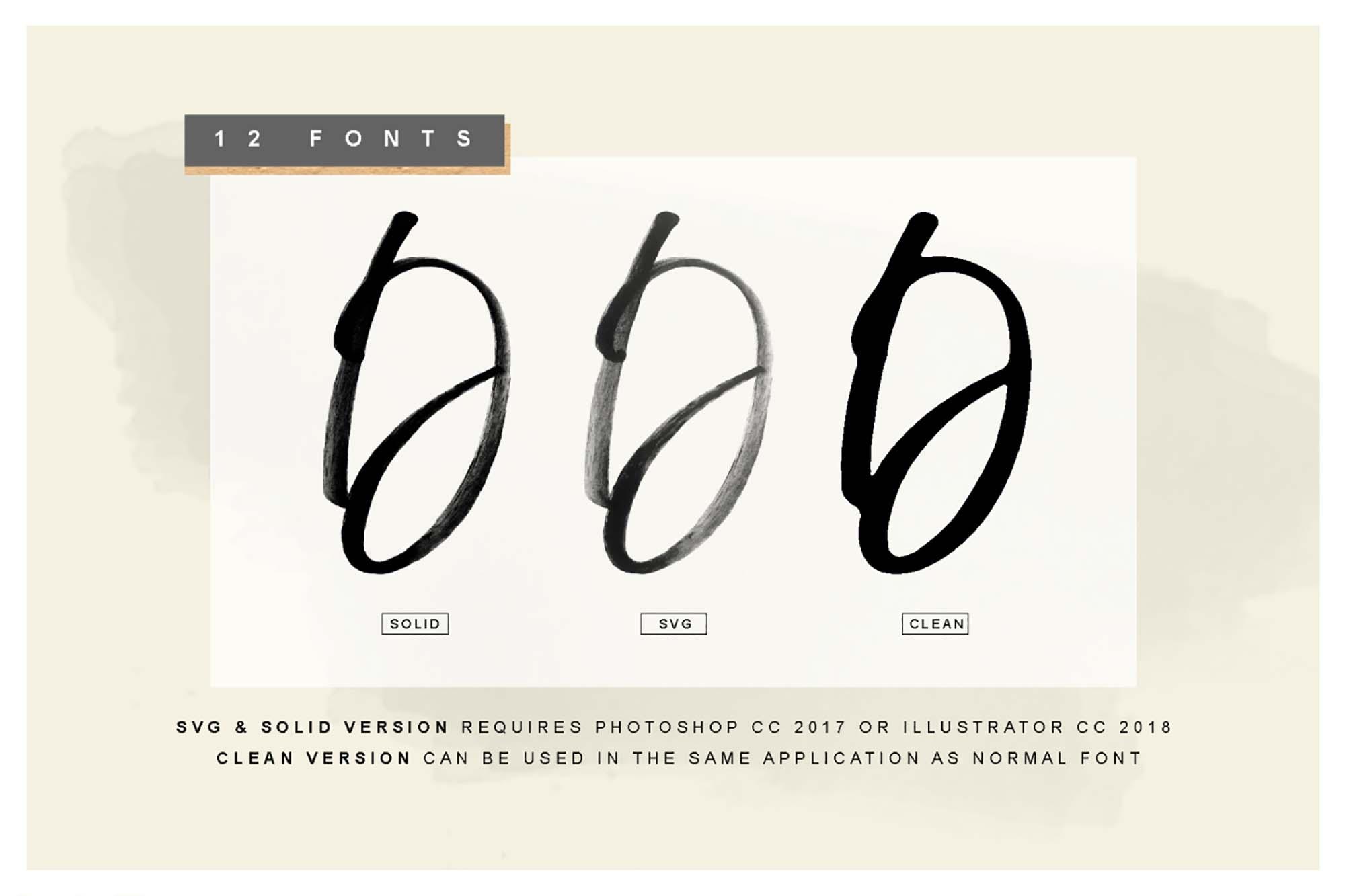 Display Signature Font 2
