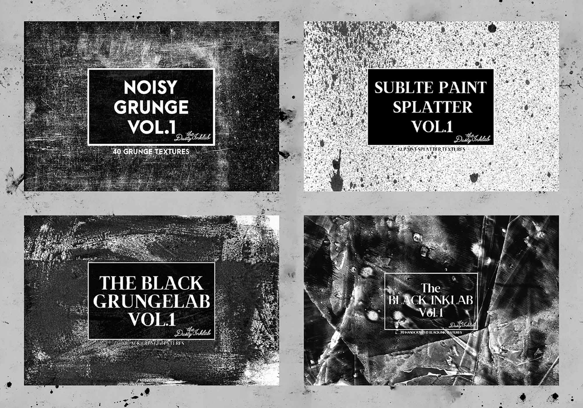 Dusty Inklab Grunge Textures 2