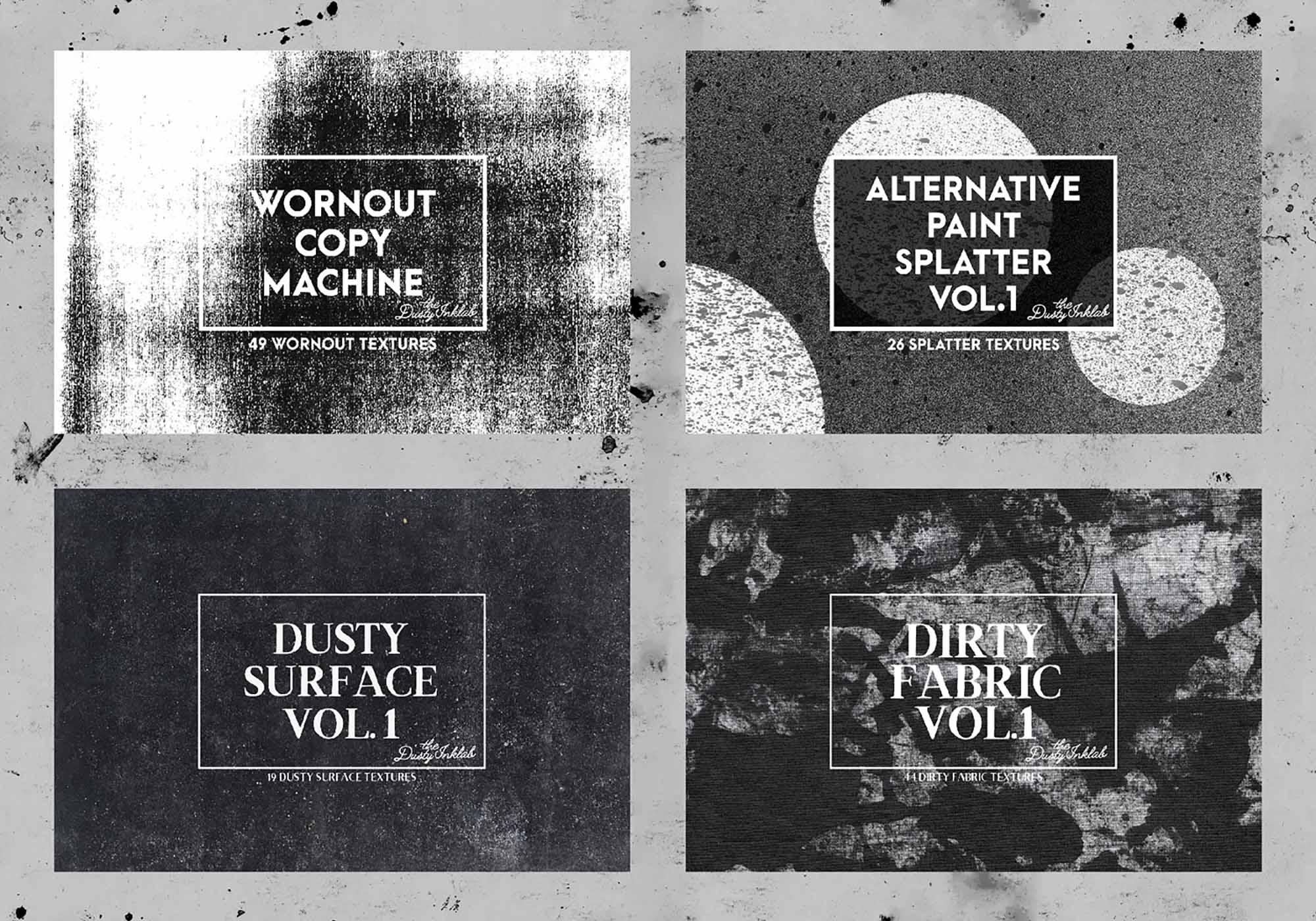 Dusty Inklab Grunge Textures 3