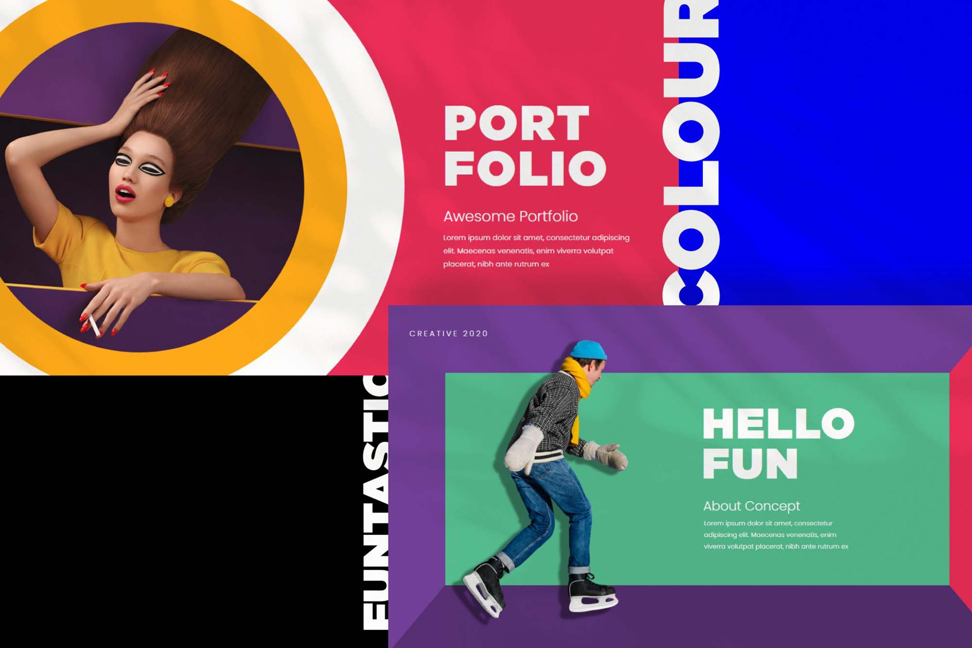 Funtastic Powerpoint Presentation Template 7