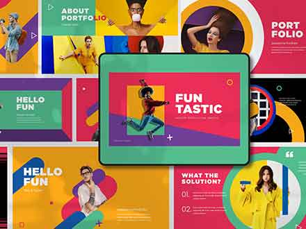 Funtastic Powerpoint Presentation Template