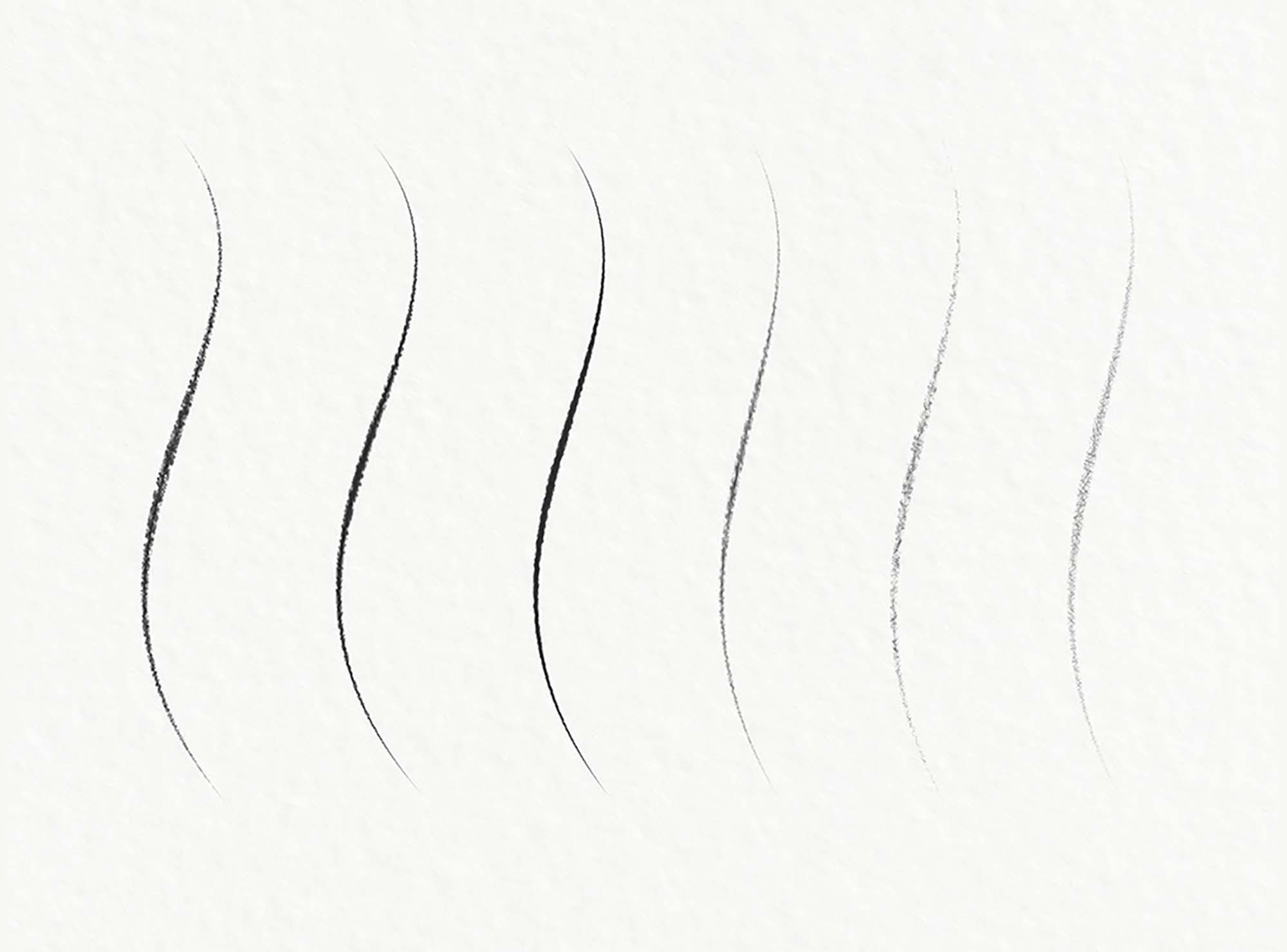 Graphite Pencil Photoshop Brushes