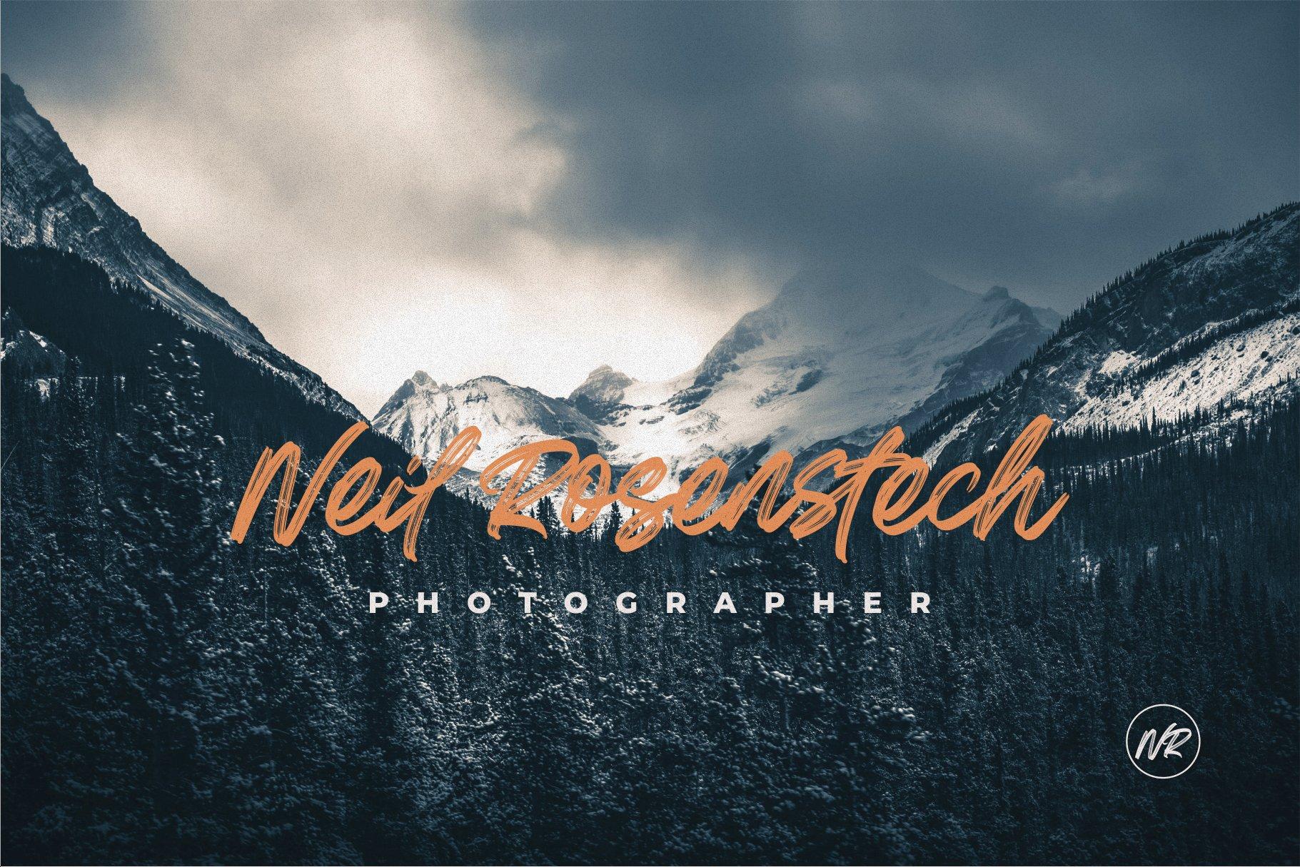 Greatest Richmond Brush Font 10
