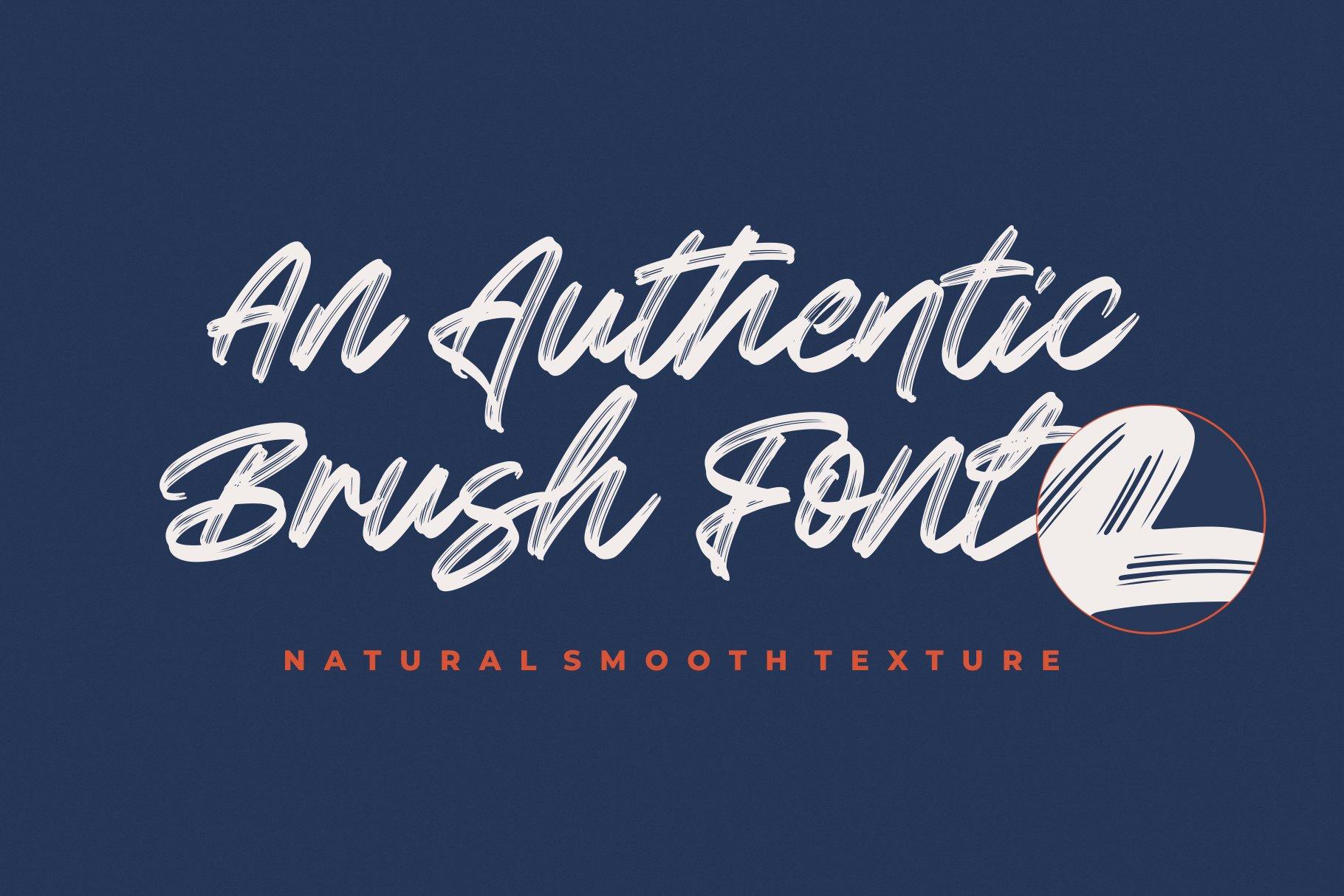 Greatest Richmond Brush Font 2