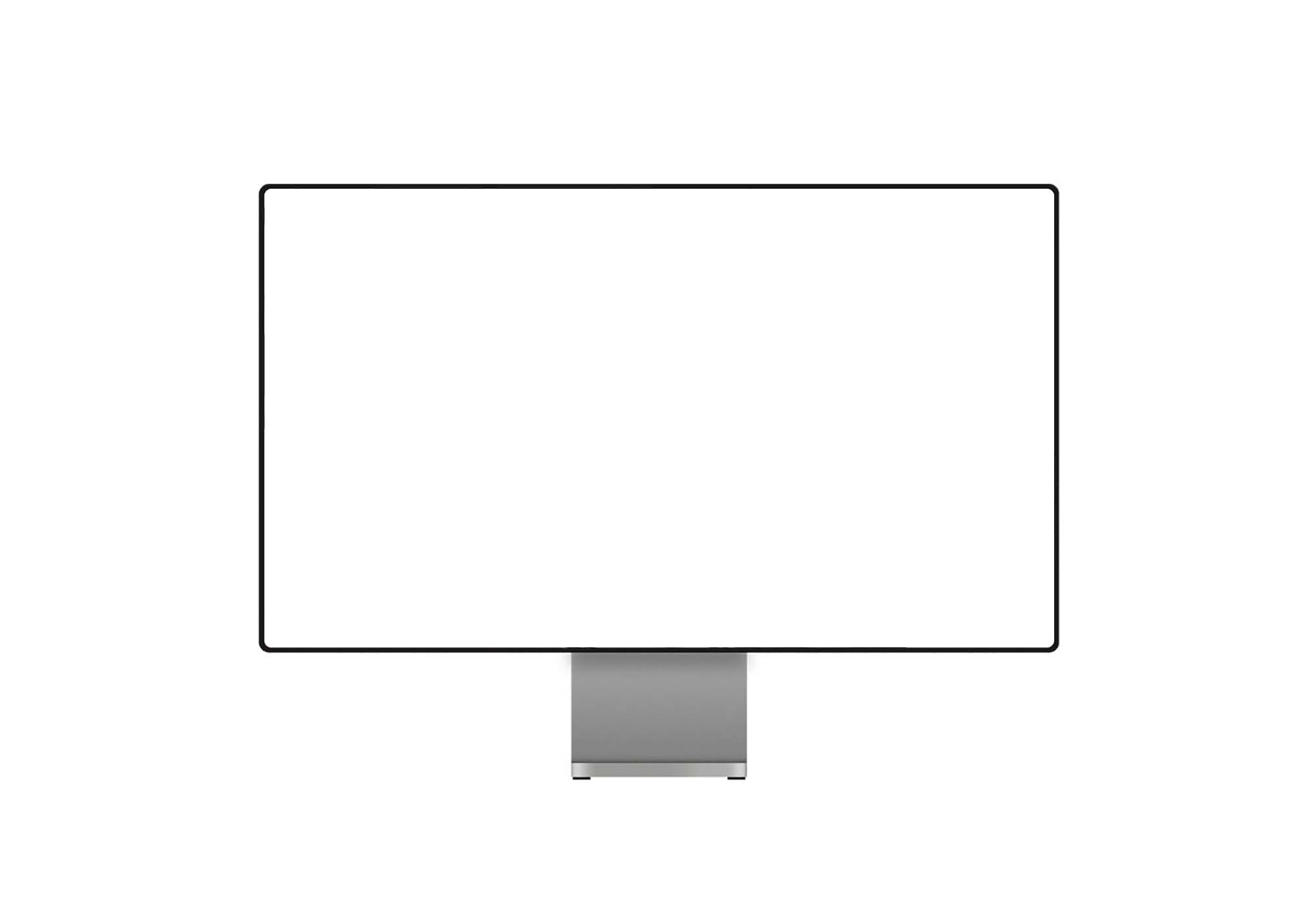 HQ Computer Screen Display Mockup 2
