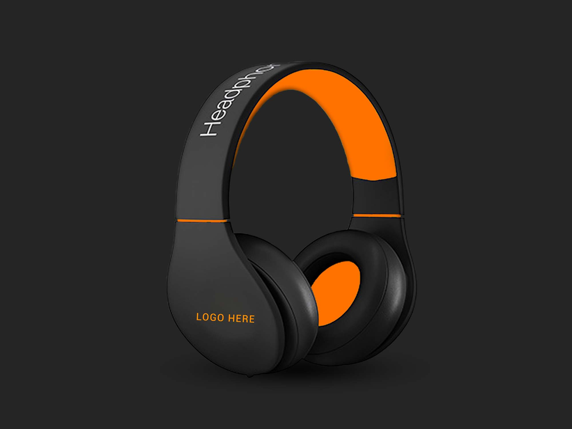 Headphone Mockup 2