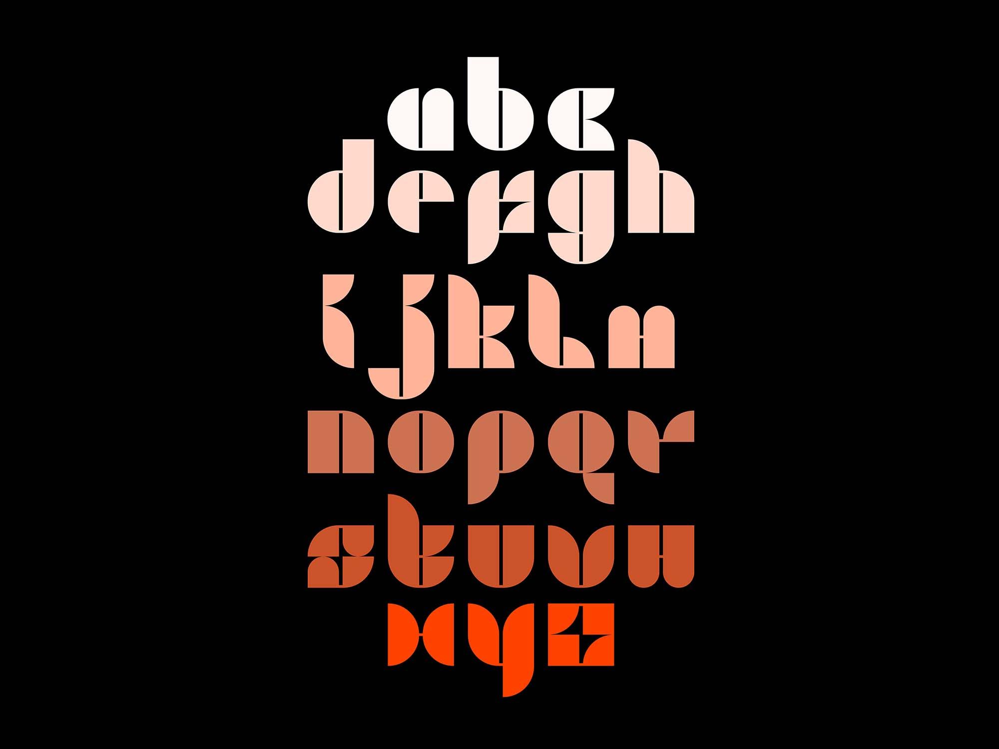 Hyrbo Display Font 1