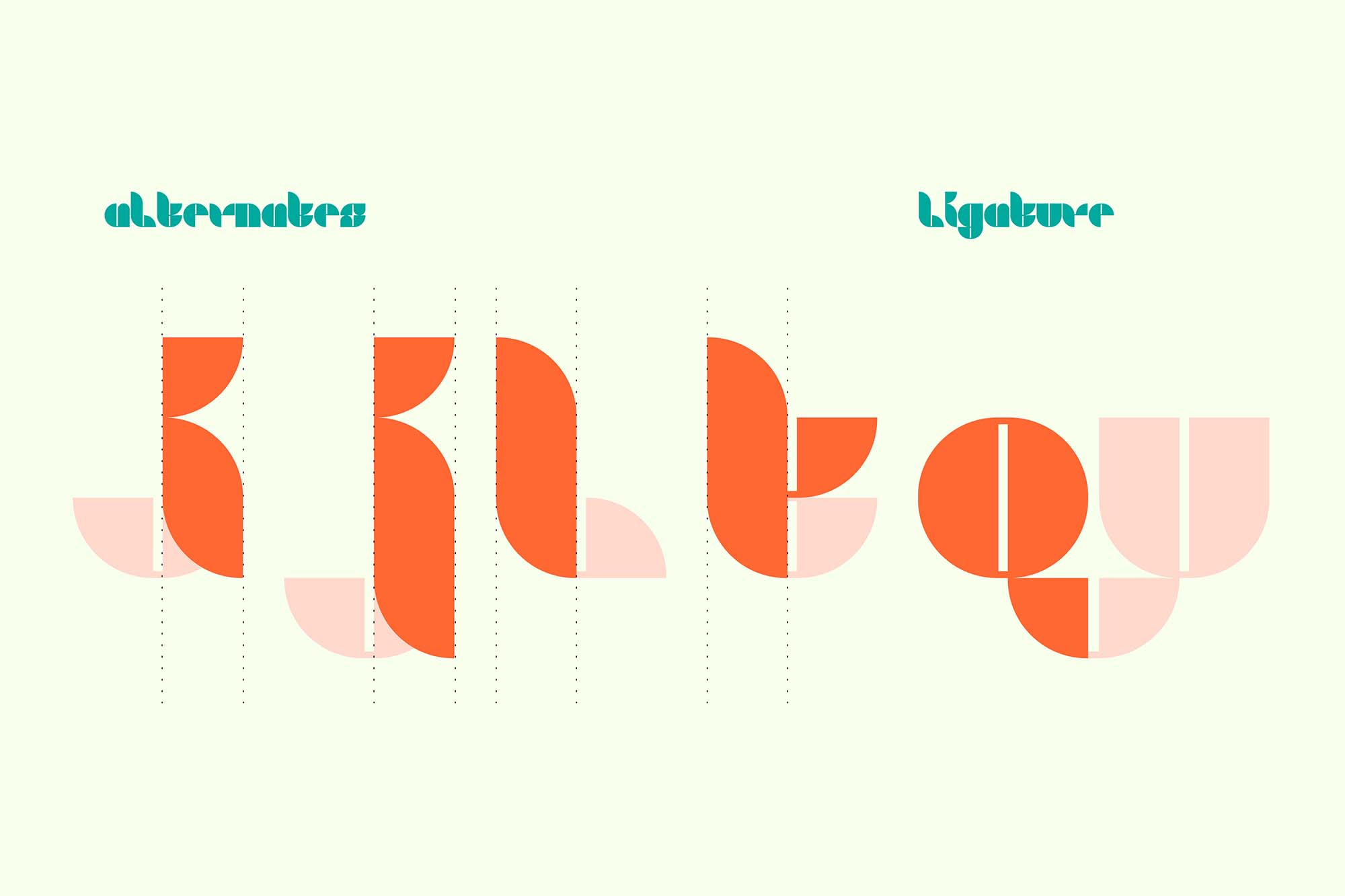 Hyrbo Display Font 3