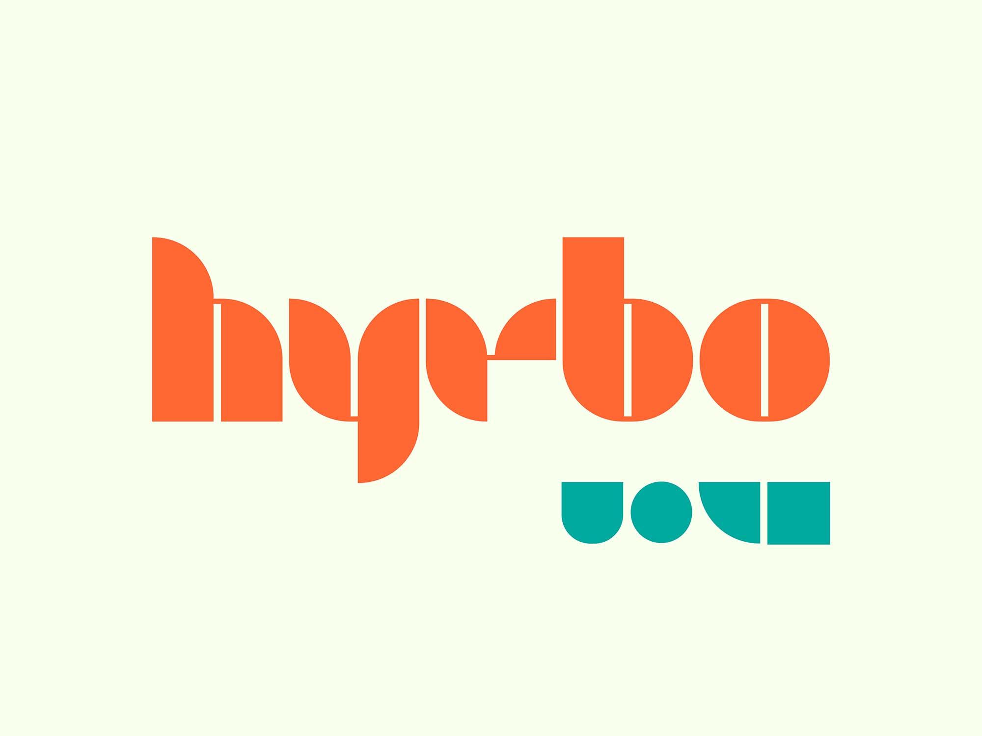 Hyrbo Display Font