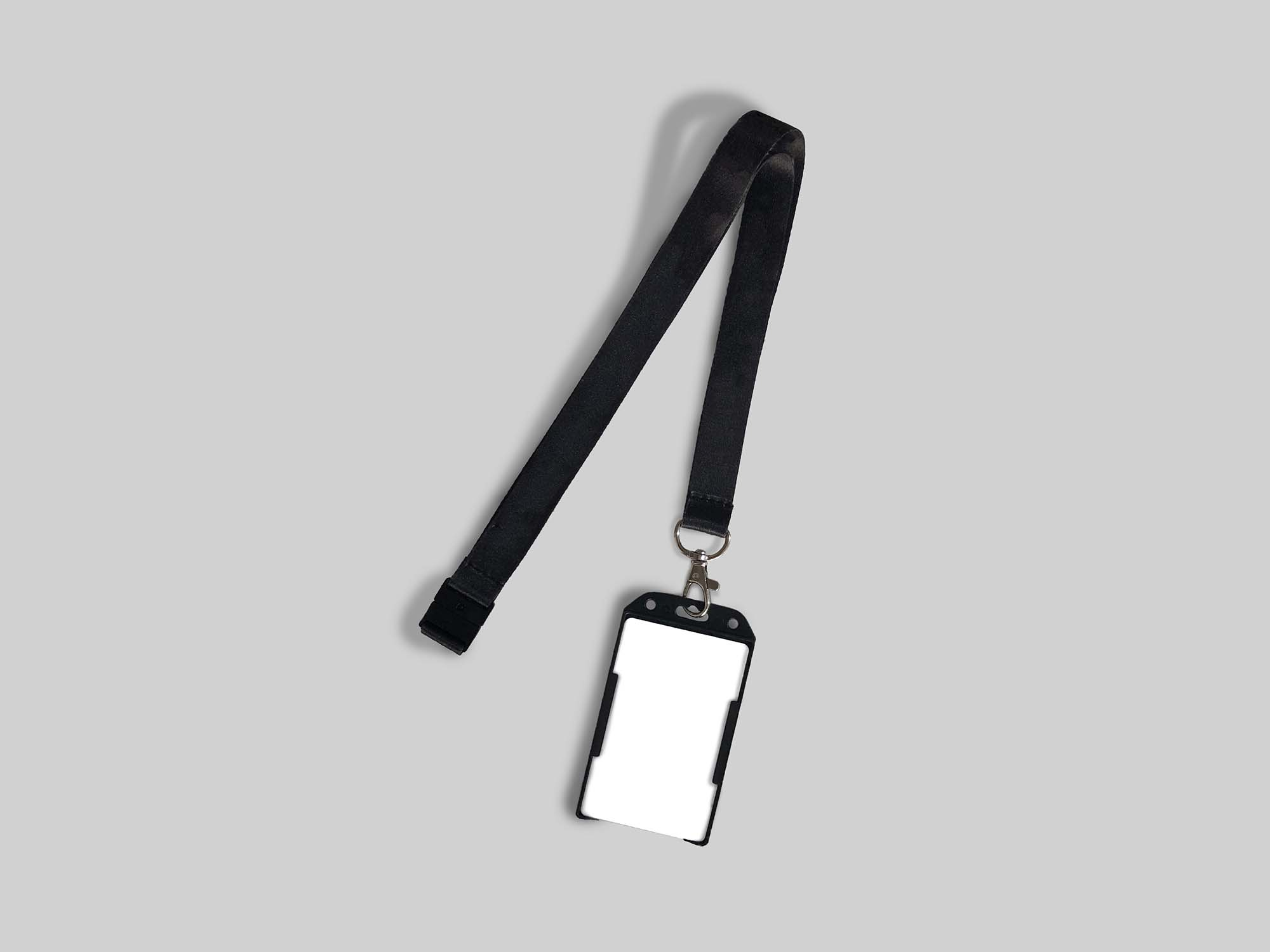 ID Card Attached to a Strap Mockup 2