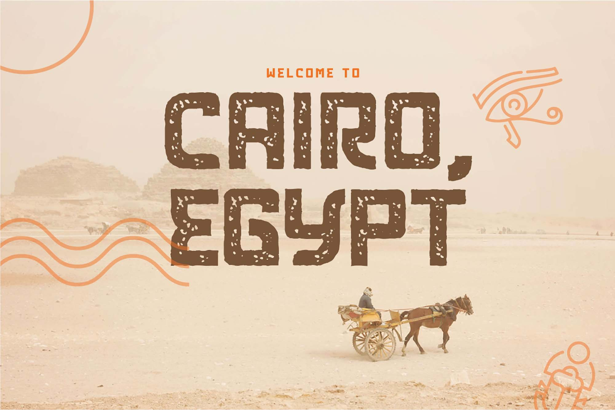 Khepri Egyptian Typeface