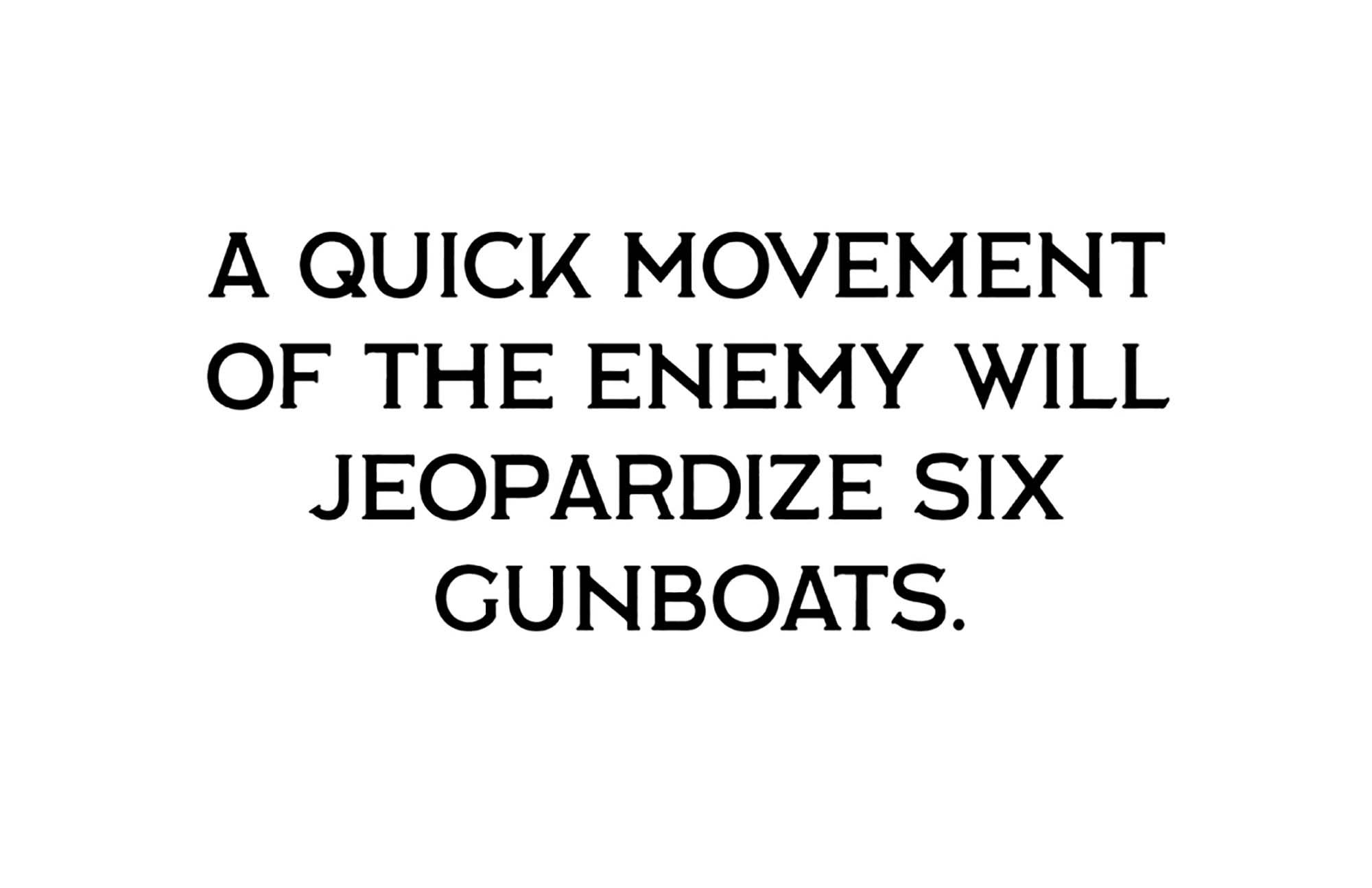Labor Union Serif Font 4
