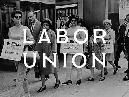 Labor Union Serif Font