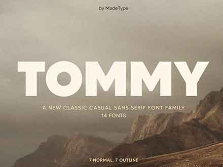 Made Tommy Sans Serif Font