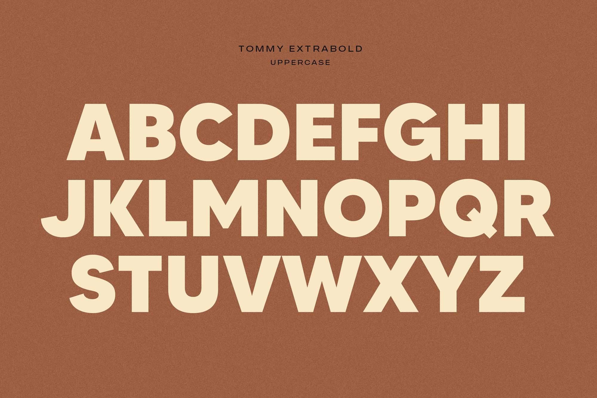 Made Tommy Sans Serif Font 5