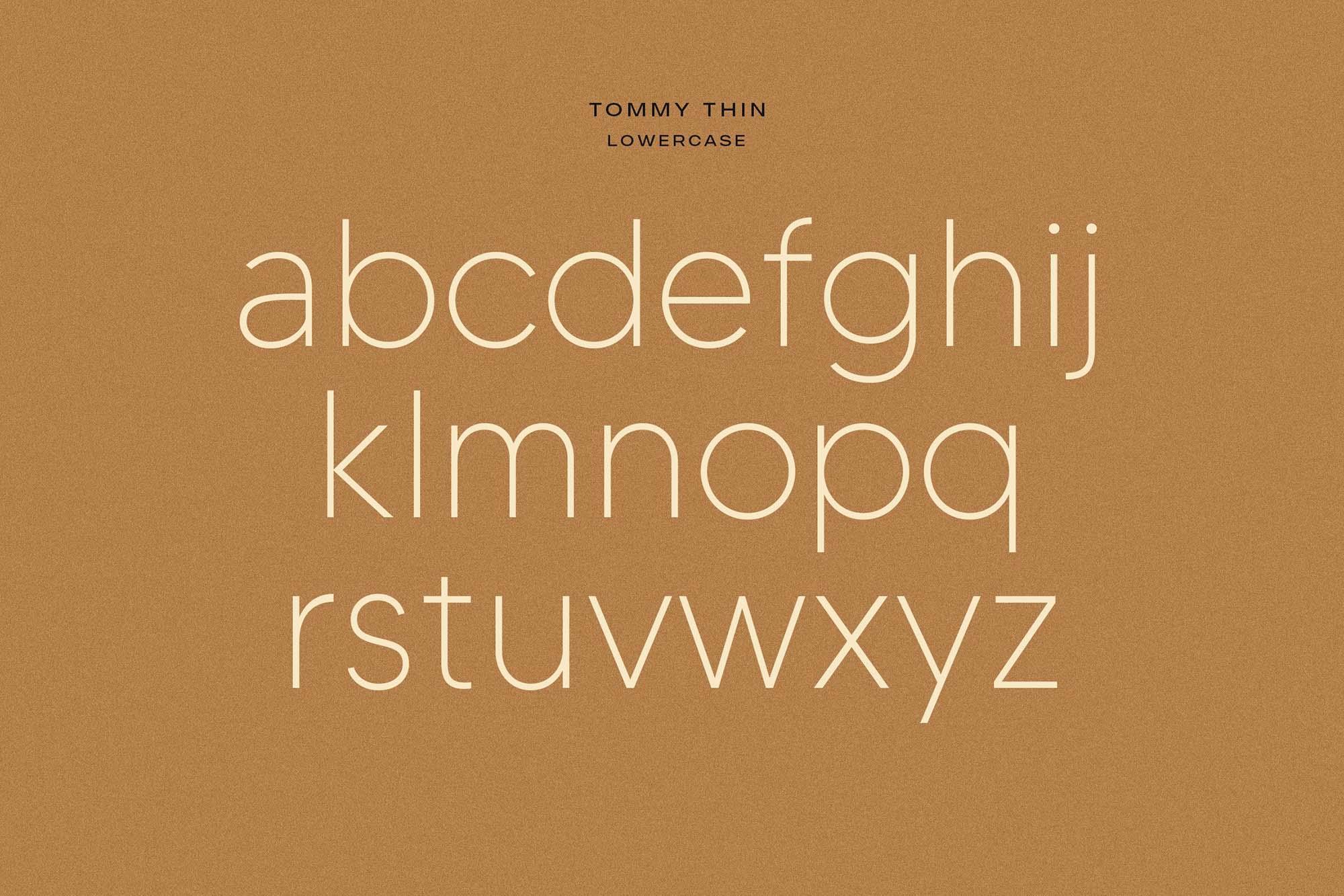 Made Tommy Sans Serif Font 7