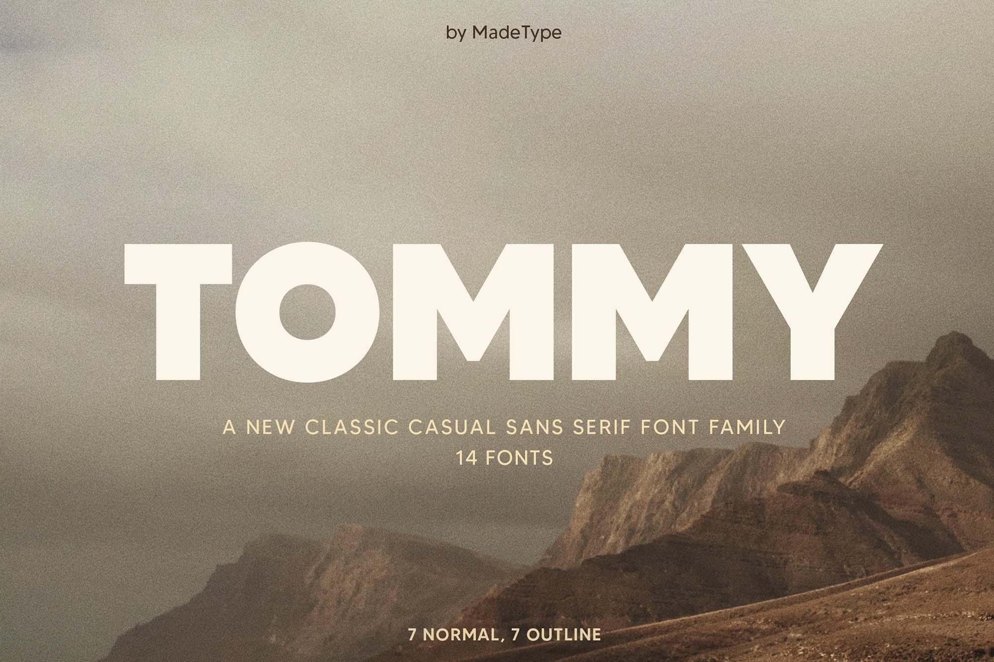 Made Tommy Sans Serif Font