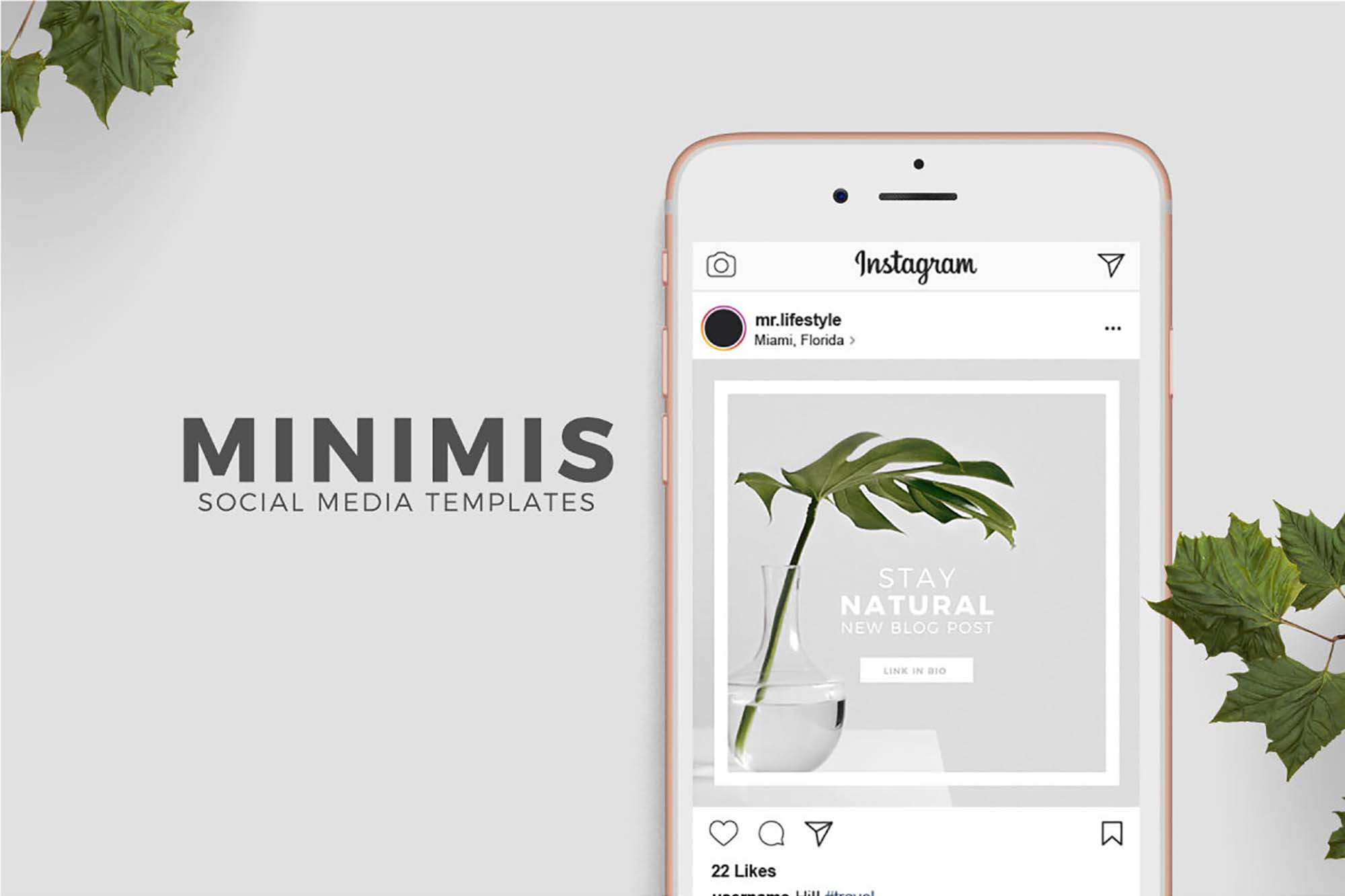 Minimis Instagram Social Media Templates