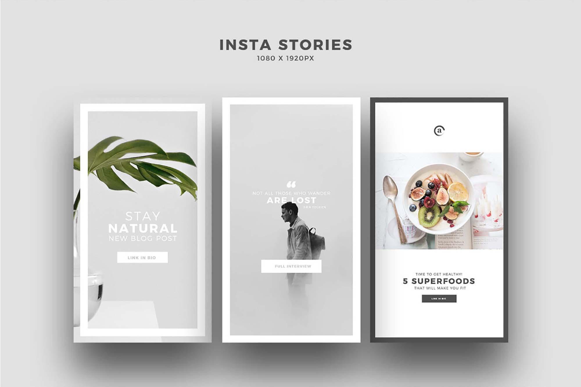 Minimis Instagram Social Media Templates 4