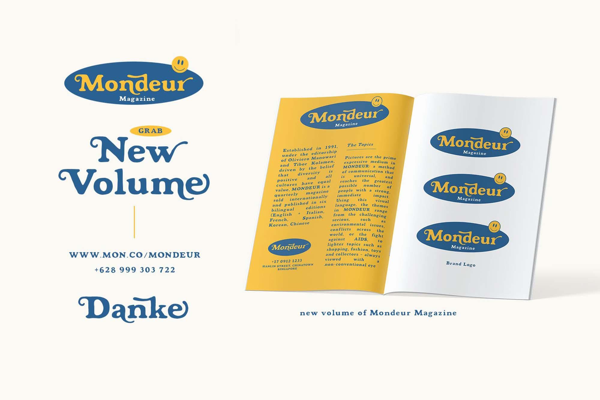 Mondeur Serif Font 2