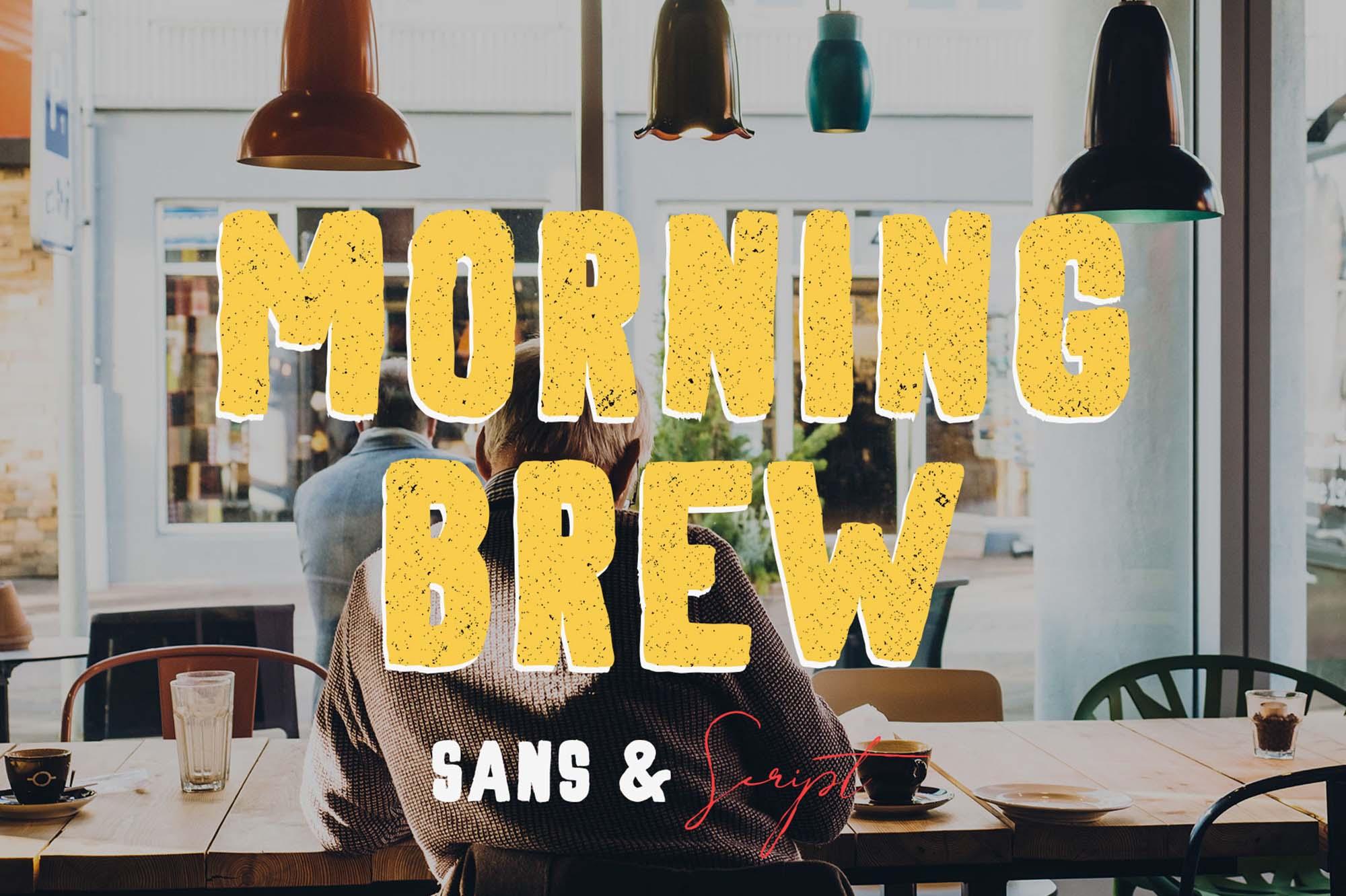 Morning Brew Font
