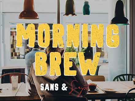 Morning Brew Font