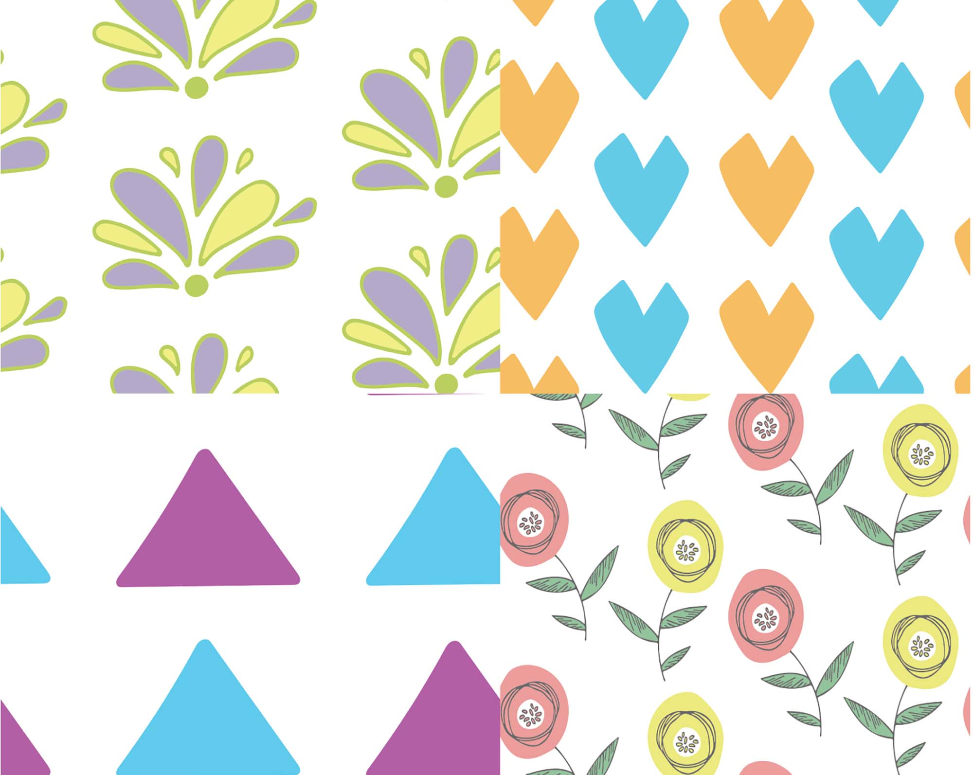 My Little Patterns Pack 3