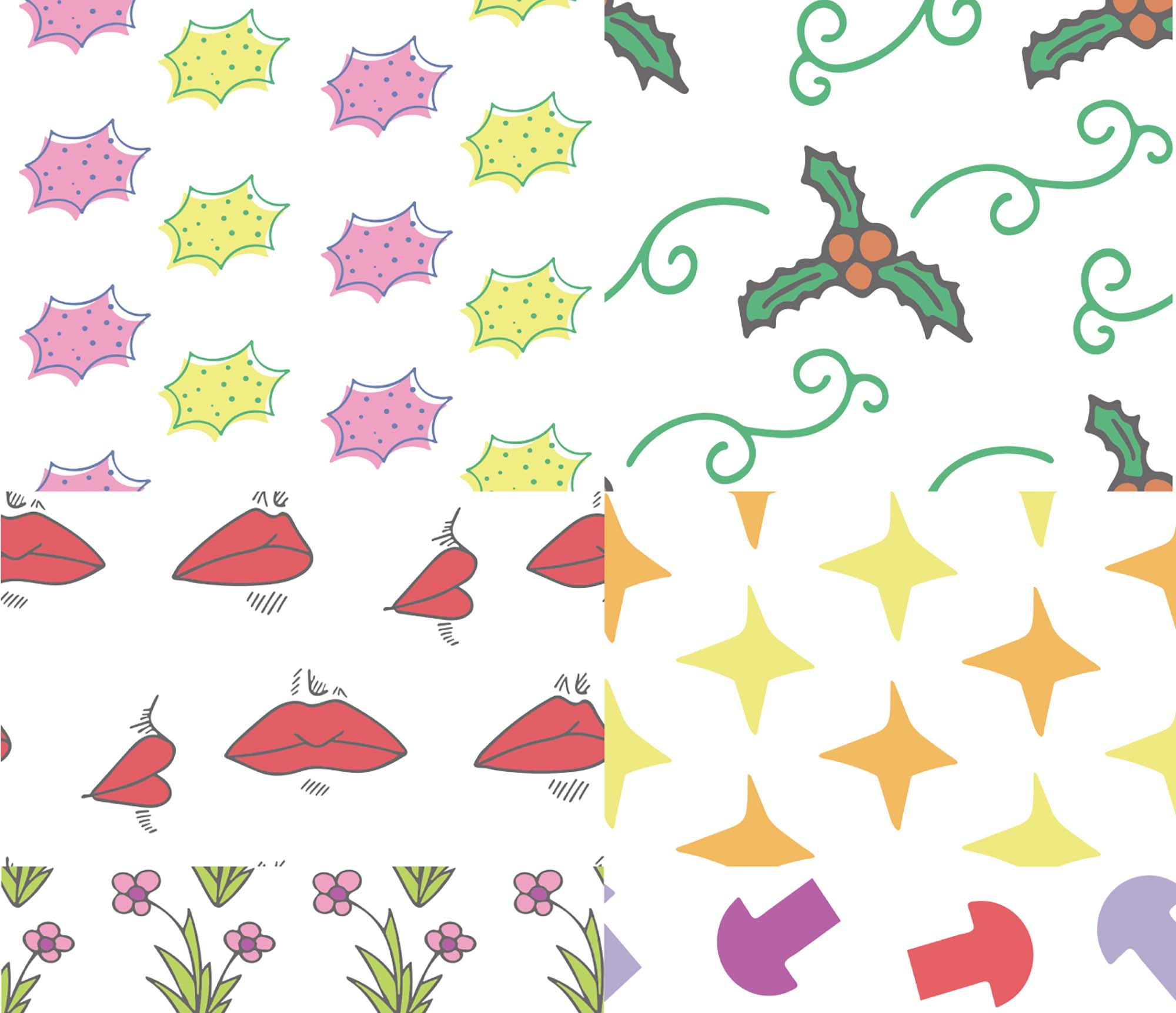 My Little Patterns Pack 4