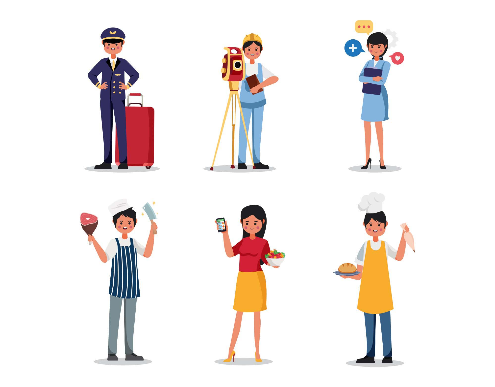 Profession Vector Characters