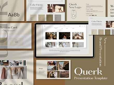 Querk Brand Presentation Template