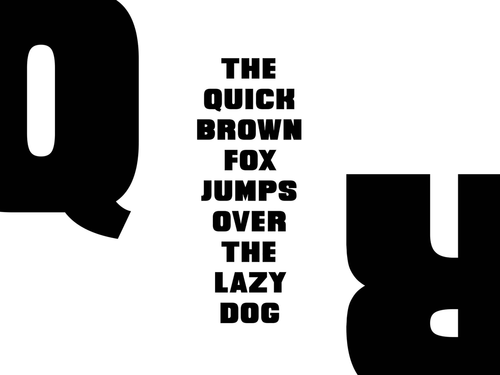 Quittance Sans Serif Font 2