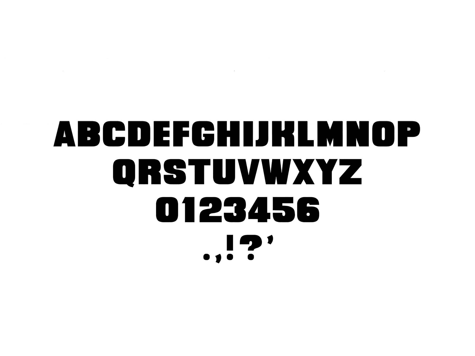 Quittance Sans Serif Font 4