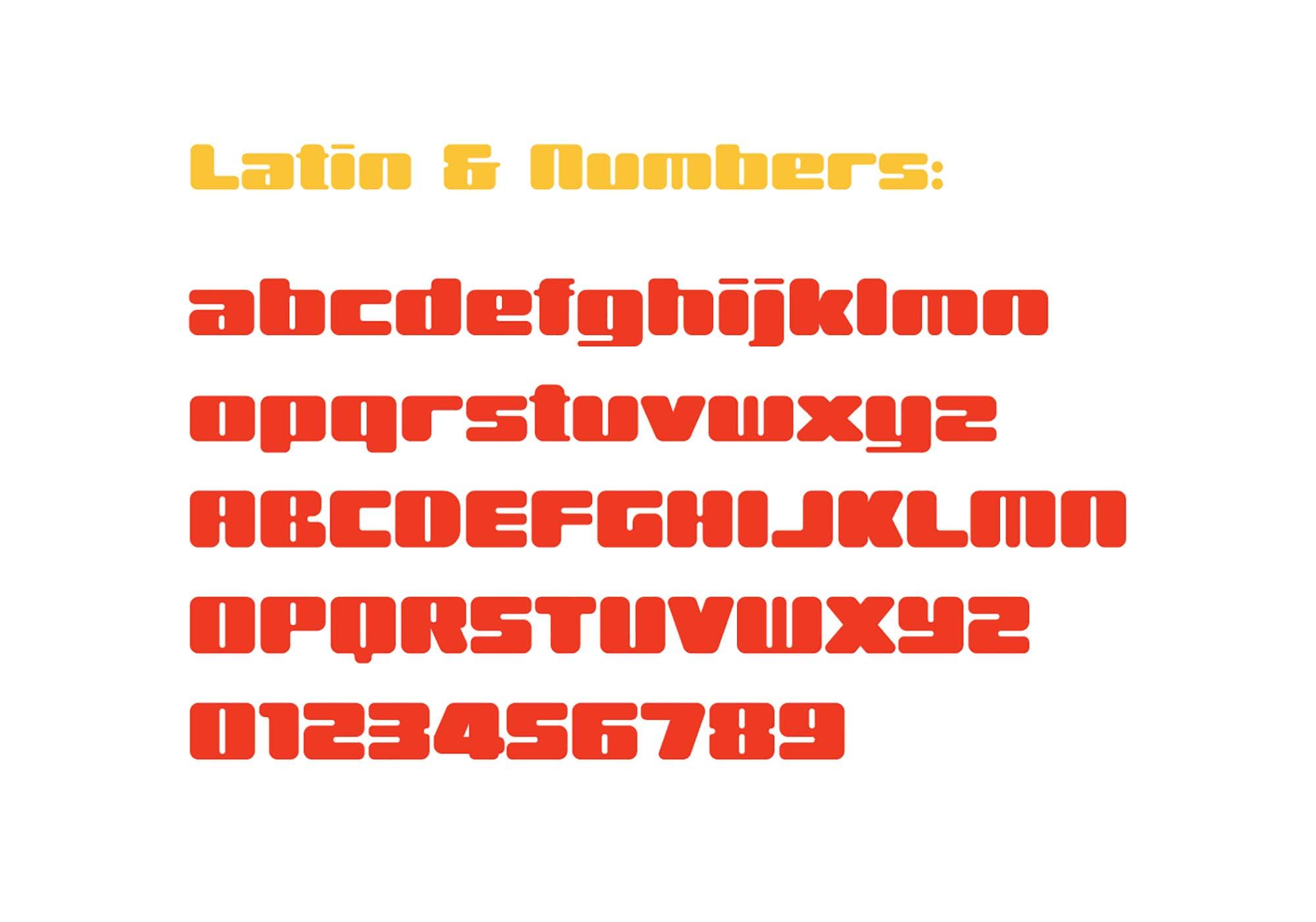 Rahovets Retro Display Font 5