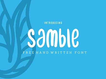 Samble Font