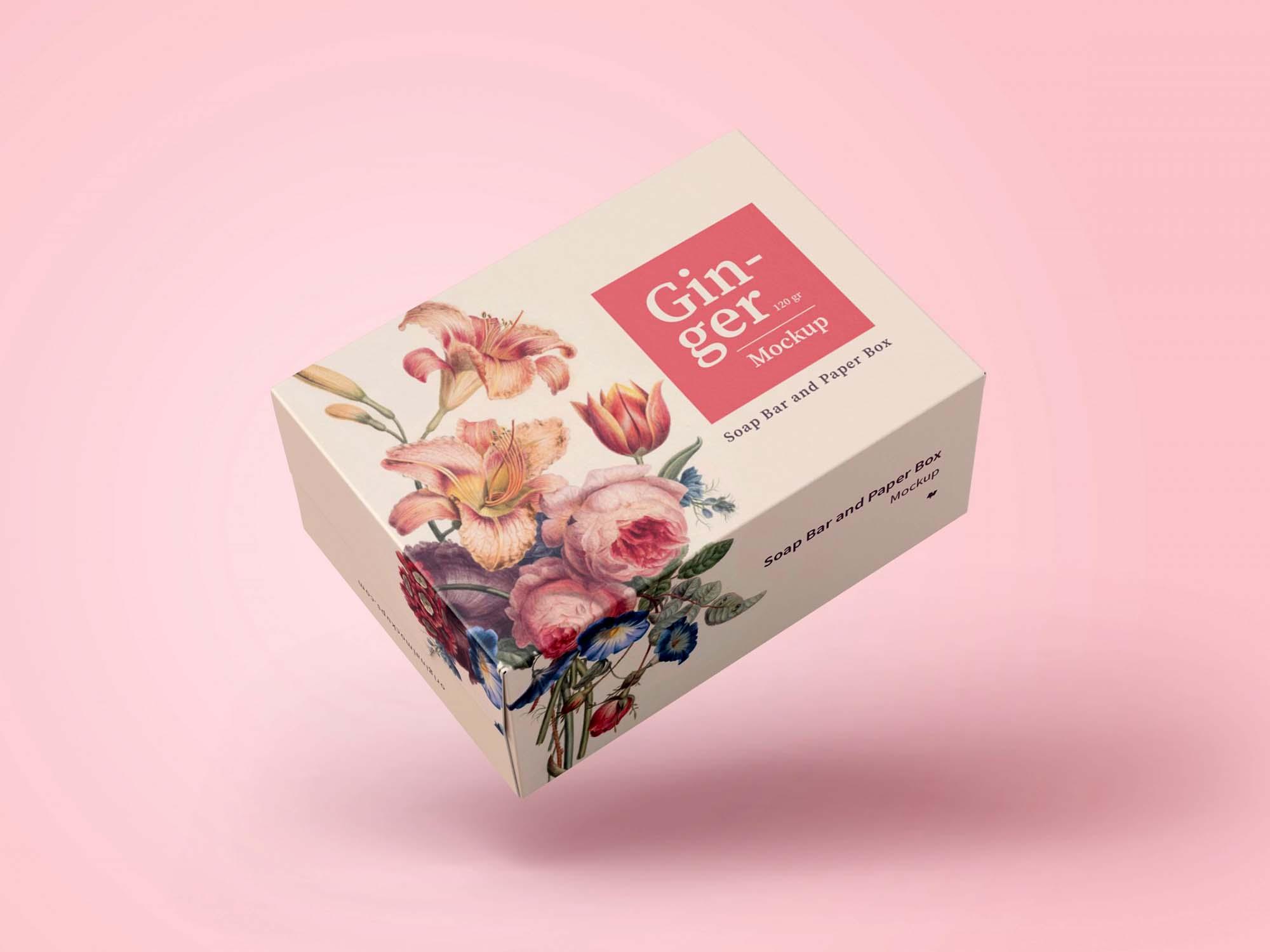 Soap Bar Box Mockup 2