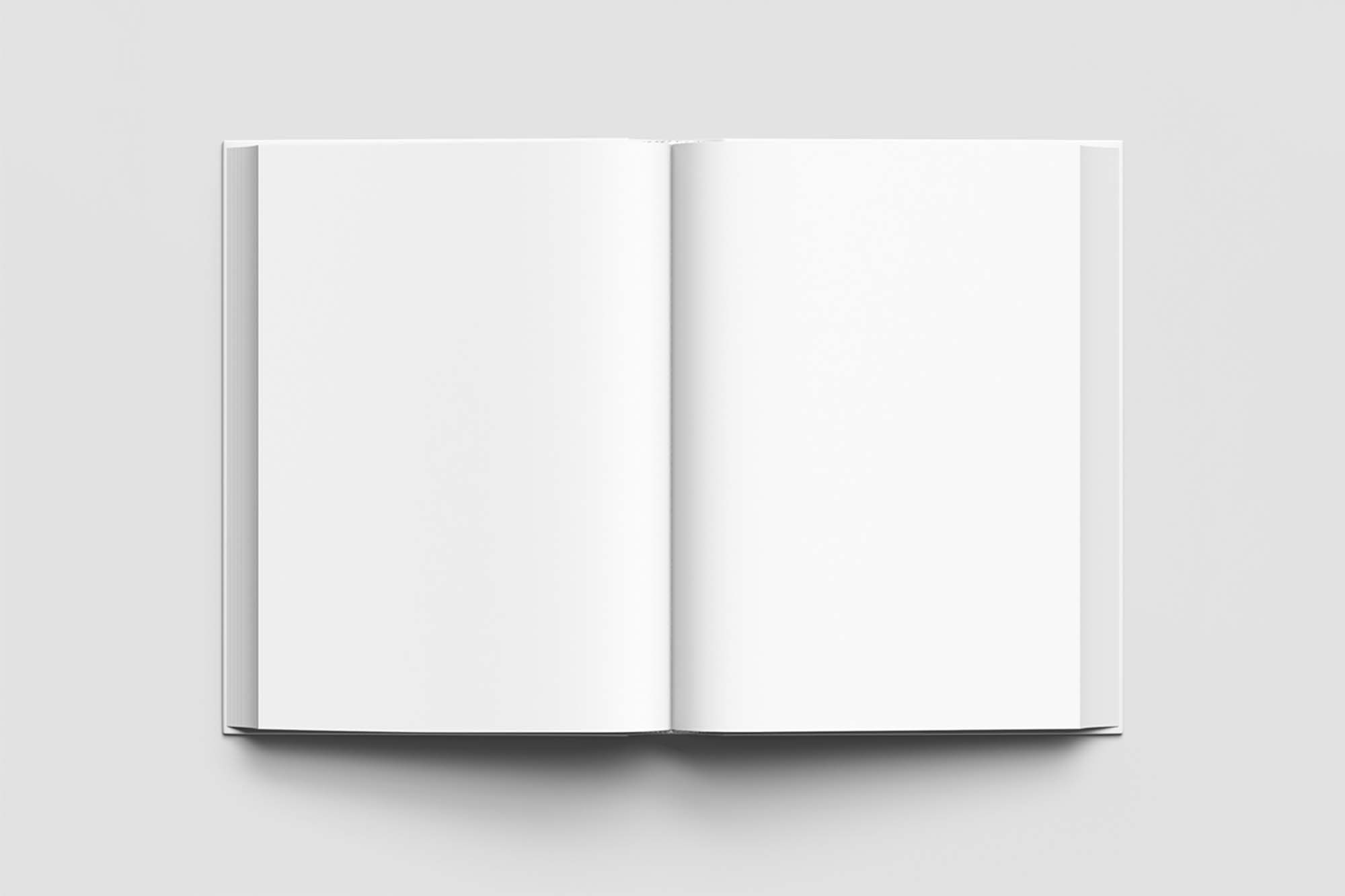 Top View Book Mockup 2