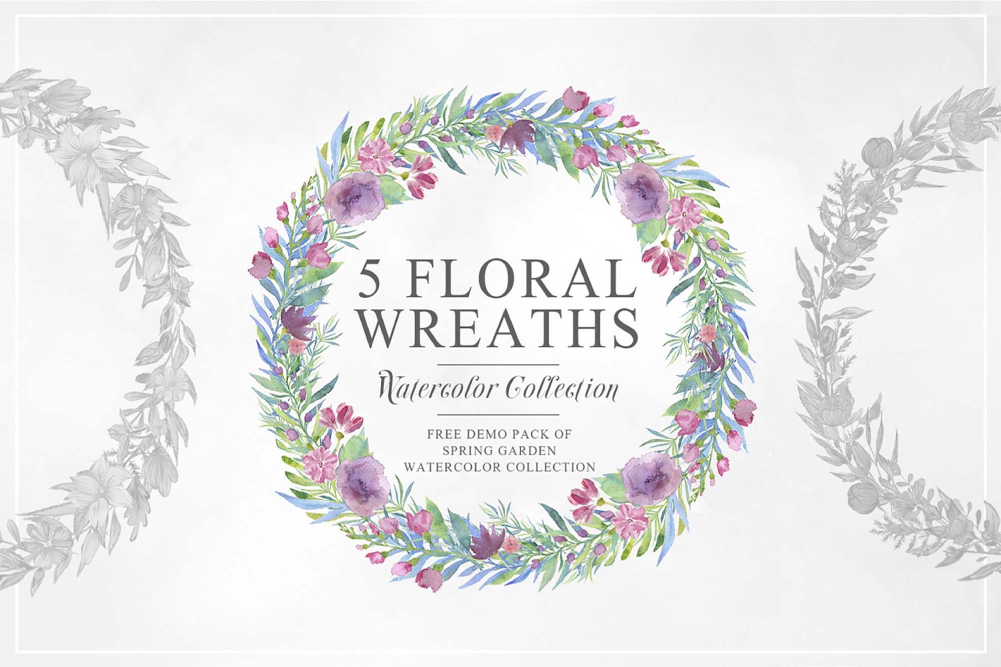 Unique Floral Wreaths