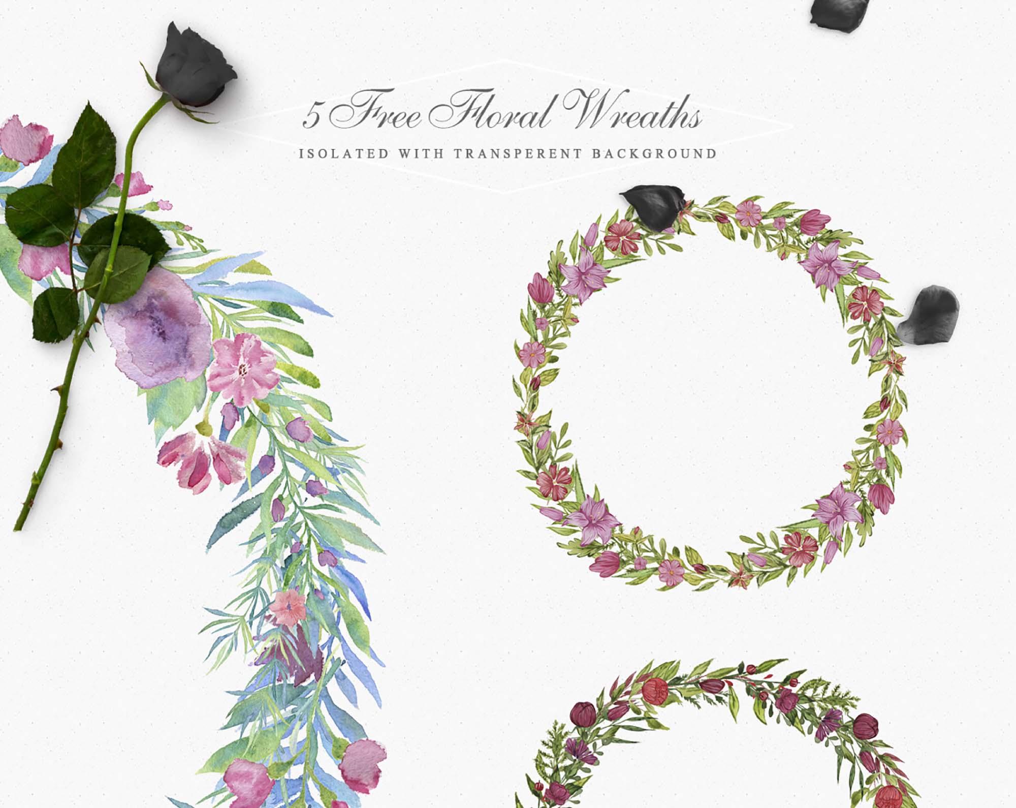 Unique Floral Wreaths 2