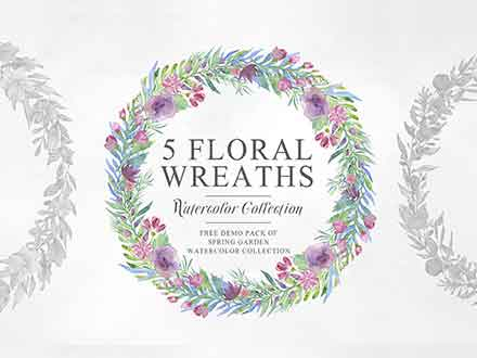 Unique Floral Wreaths