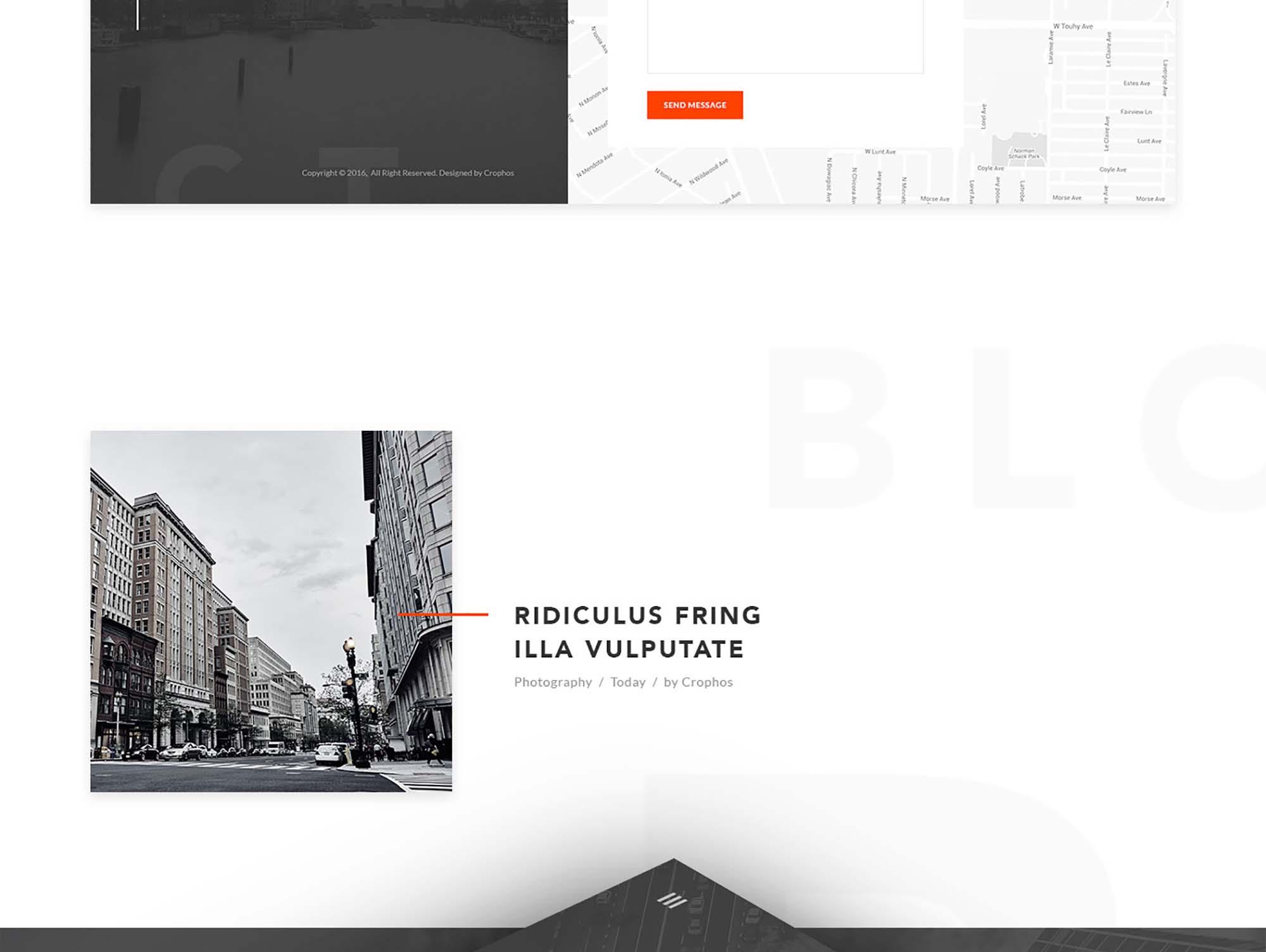 Vanzer Portfolio Website Template 5