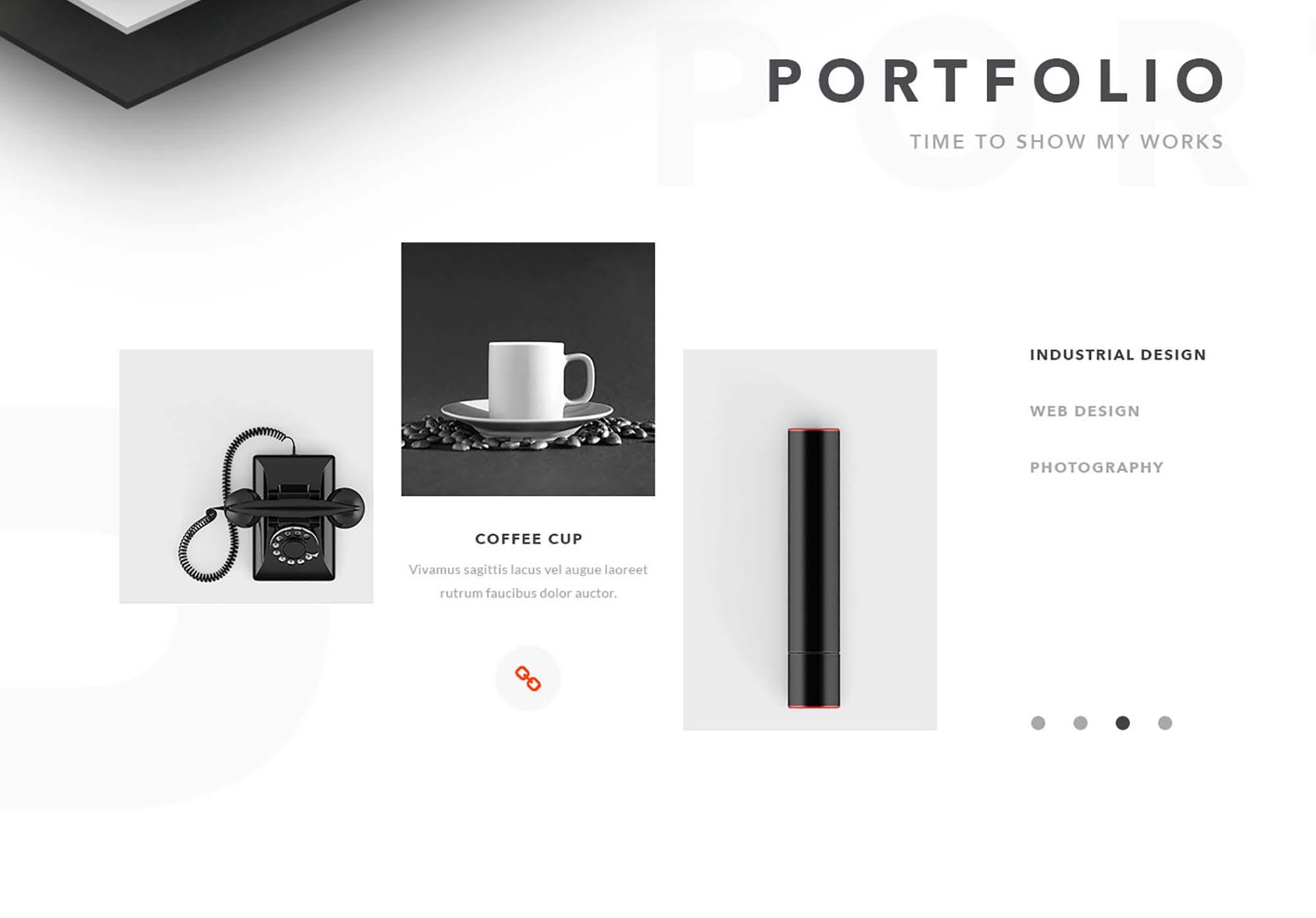 Vanzer Portfolio Website Template 7