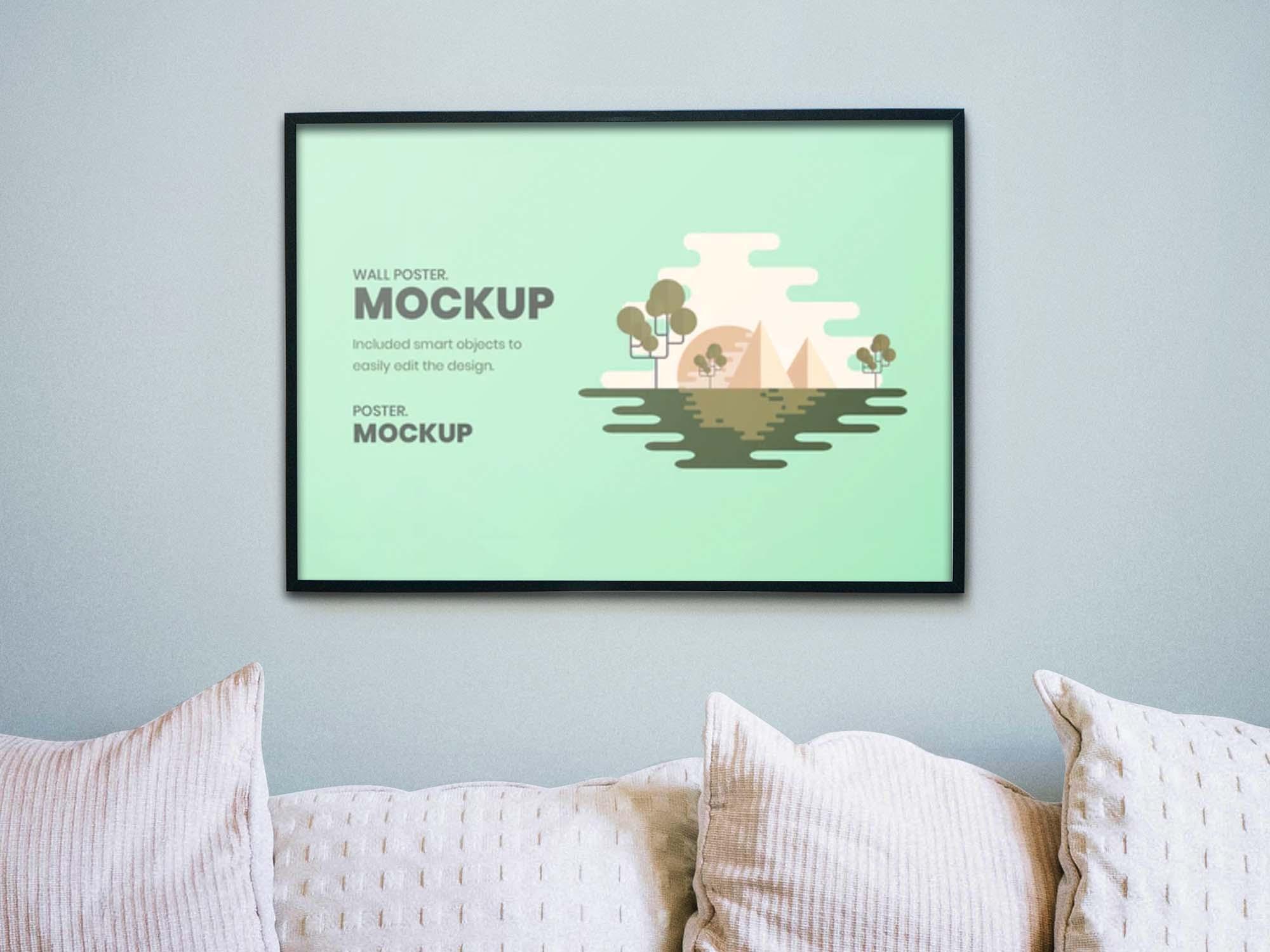 Wall Artwork Mockup