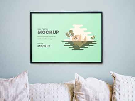 Wall Artwork Mockup