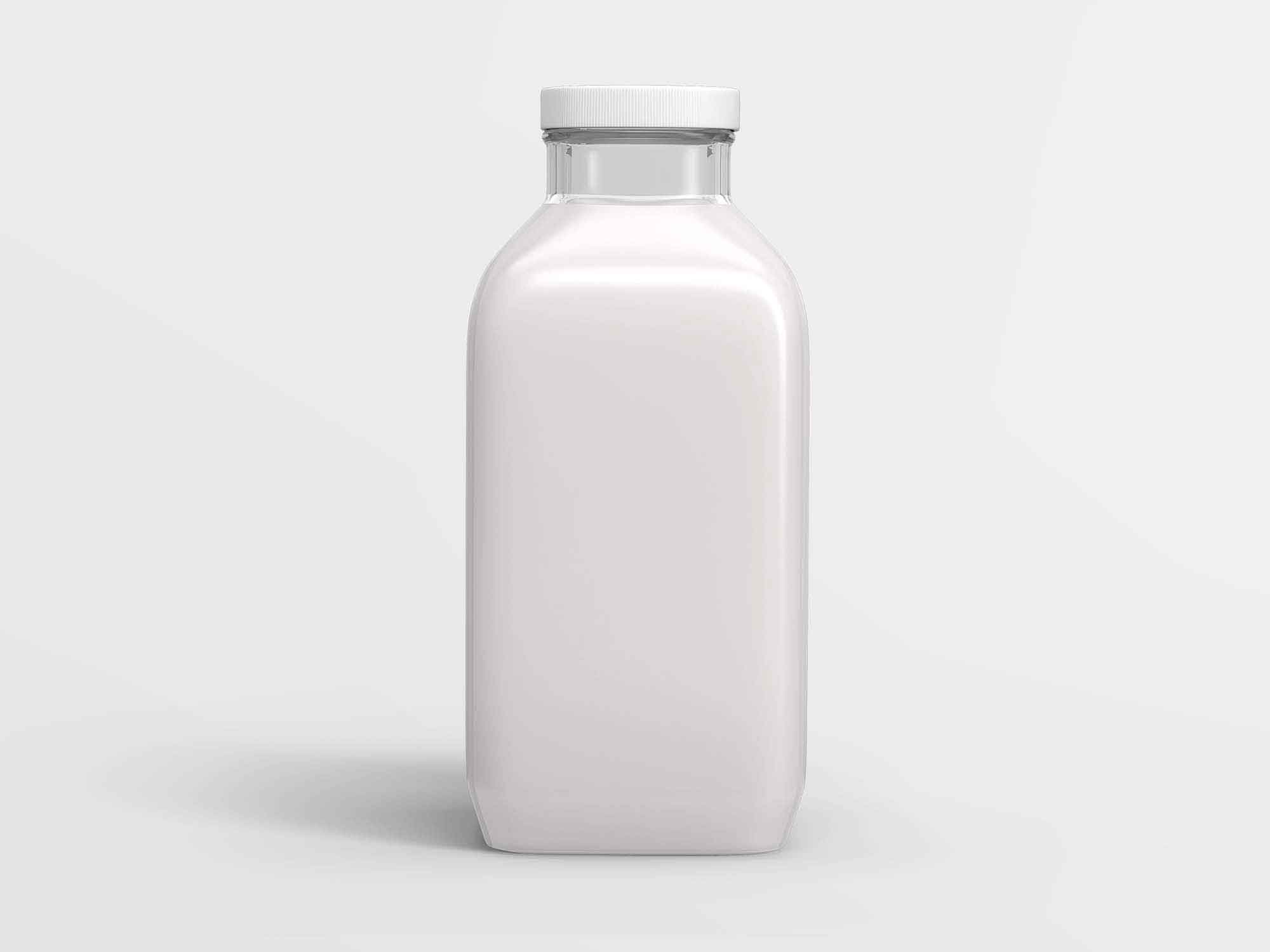 350ml Juice Bottle Mockup 2
