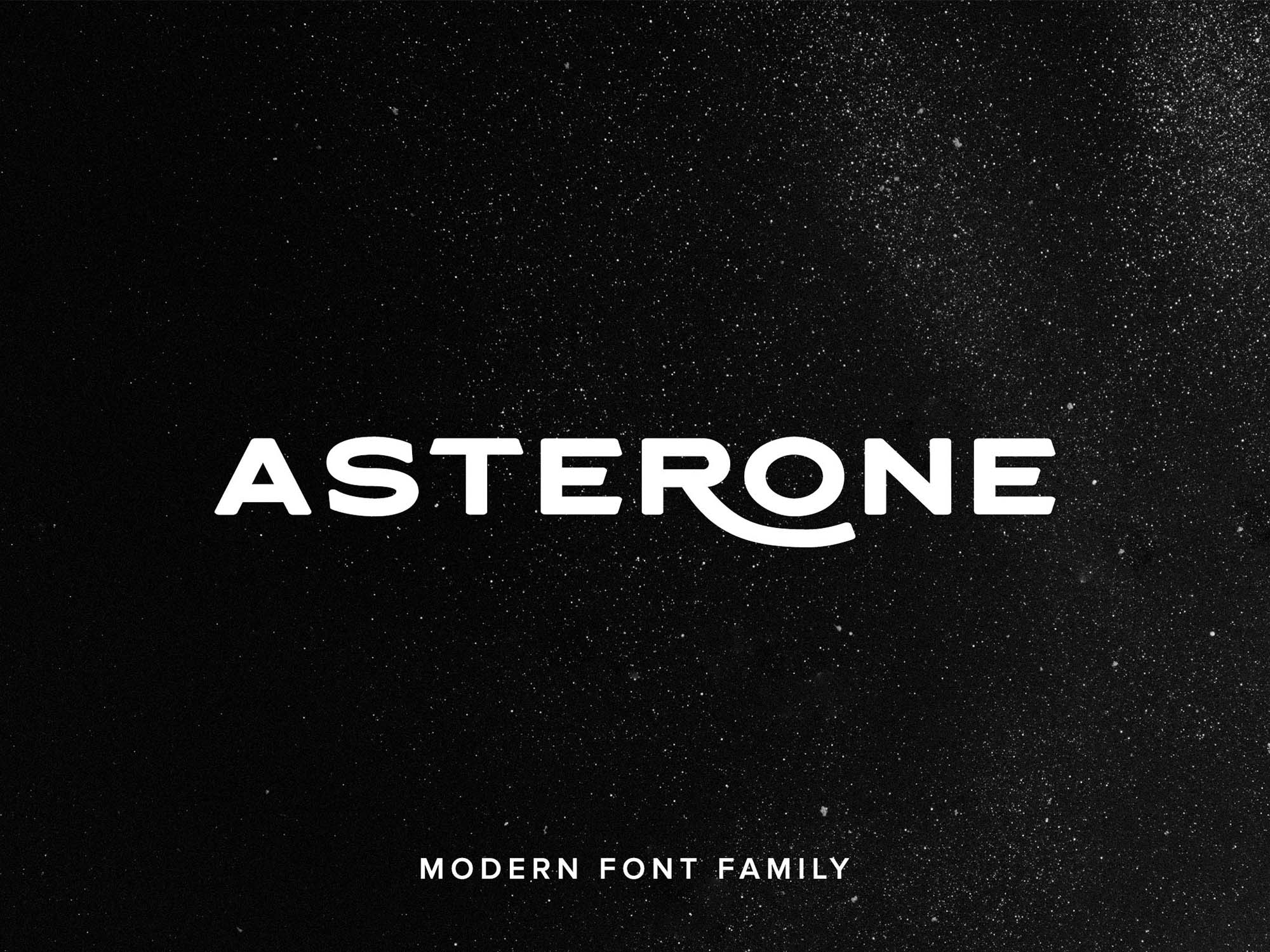 Asterone Font Family