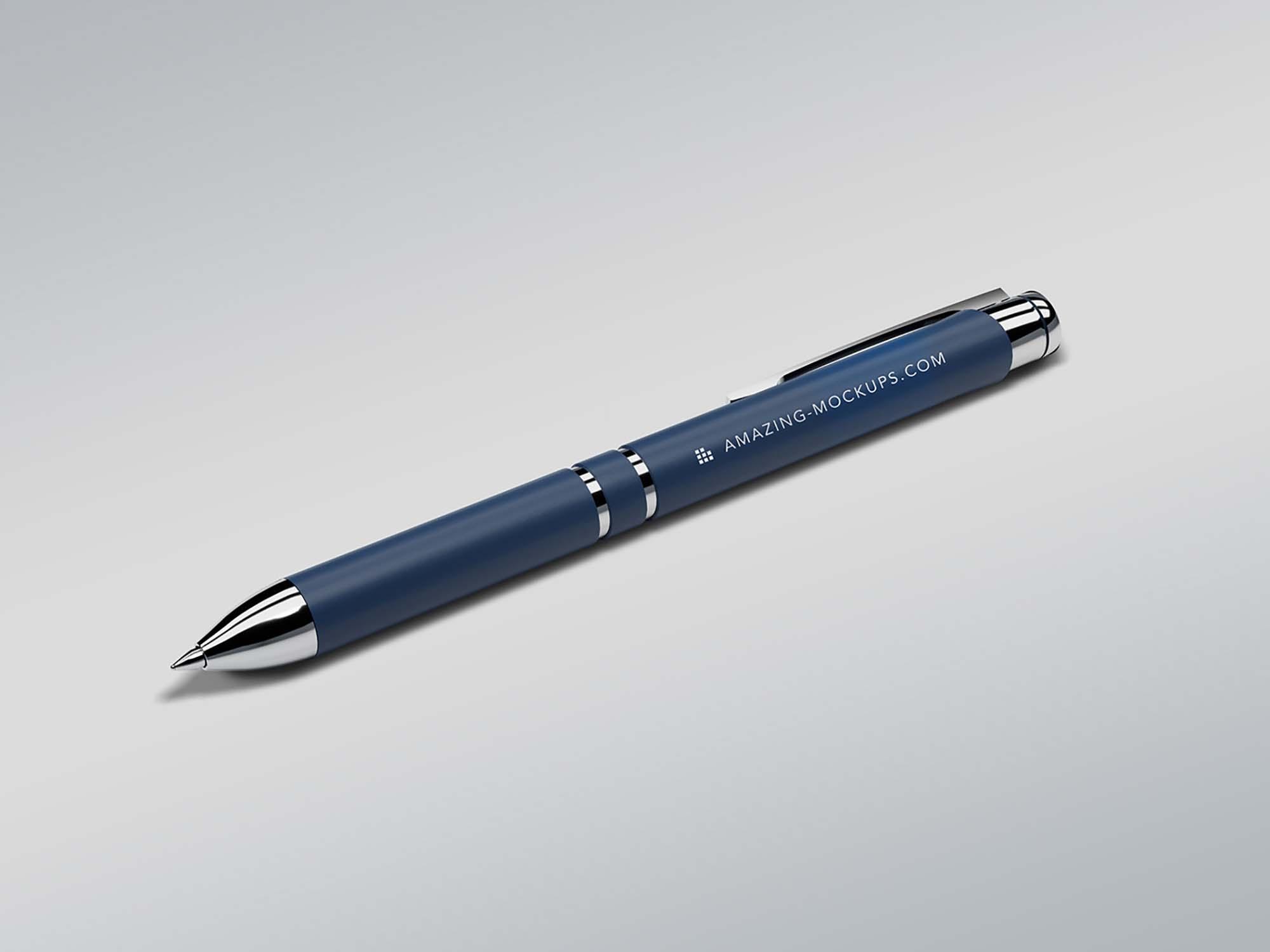 Ballpoint Pen Mockup 2