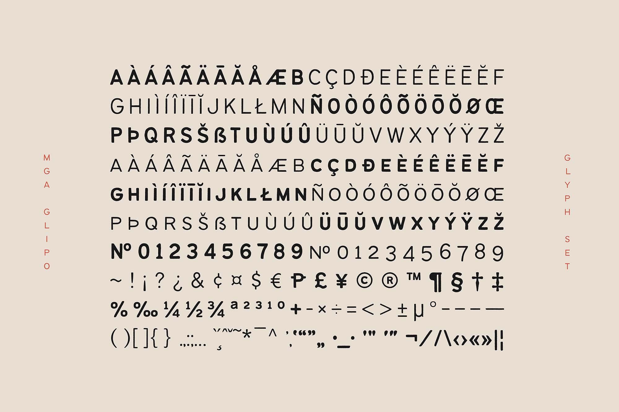 Bantayog Typeface 6