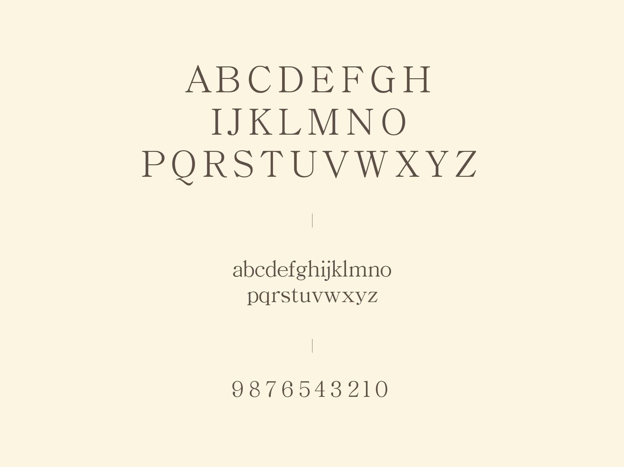 Bellina Serif Font 5