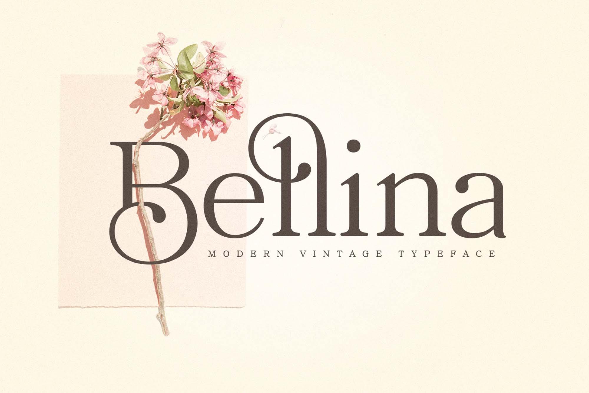 Bellina Serif Font