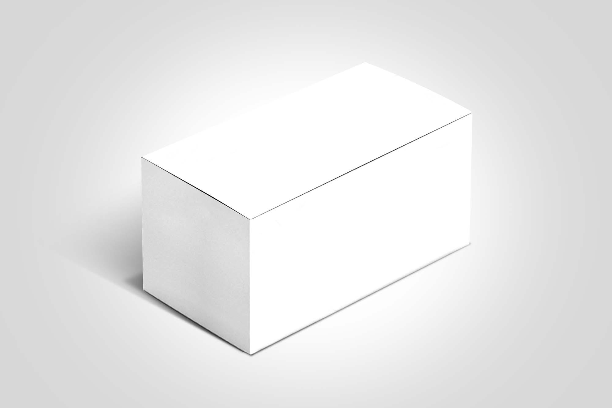 Cuboid Box Mockup 2